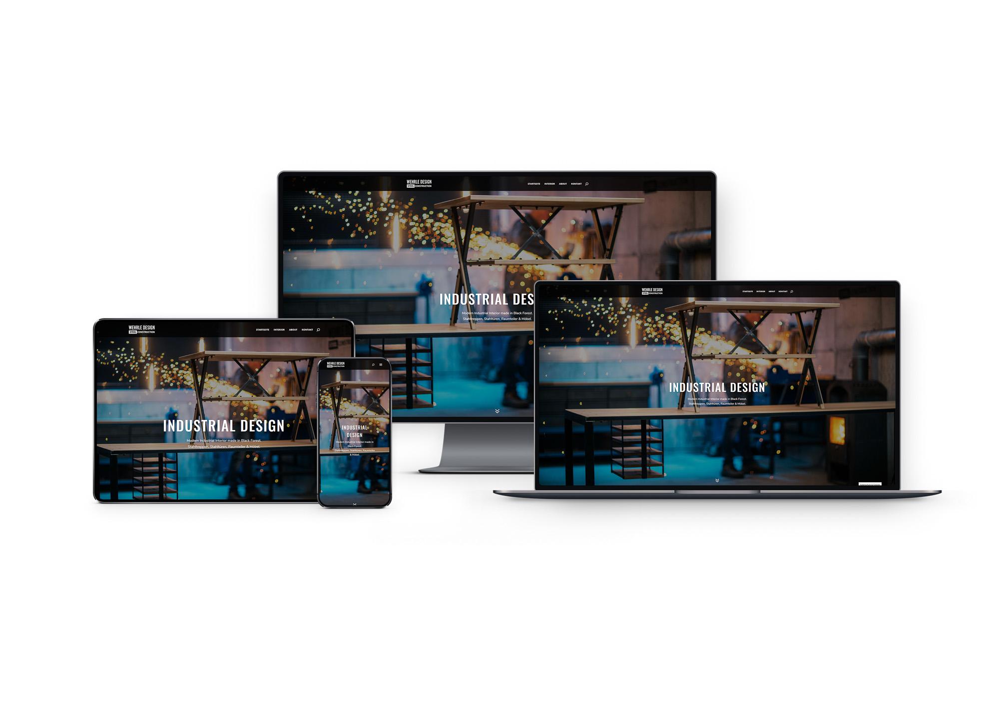 kopfmedia werbeagentur offenburg wehrle design website